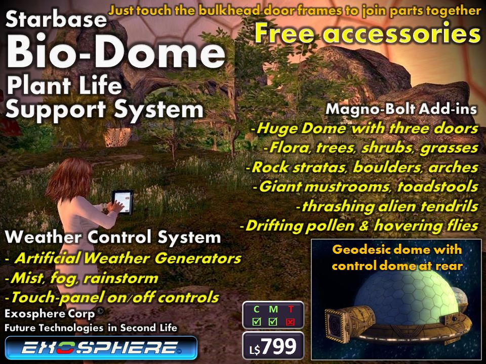 Bio-Dome - Exosphere in Second Life